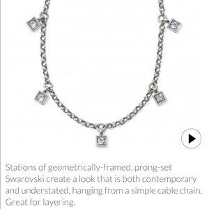 Meridian Zenith station necklace NWT